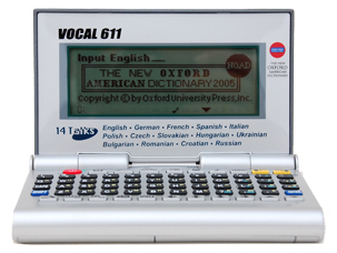 VOCAL 611 14 Languages Electronic Speaking Translator